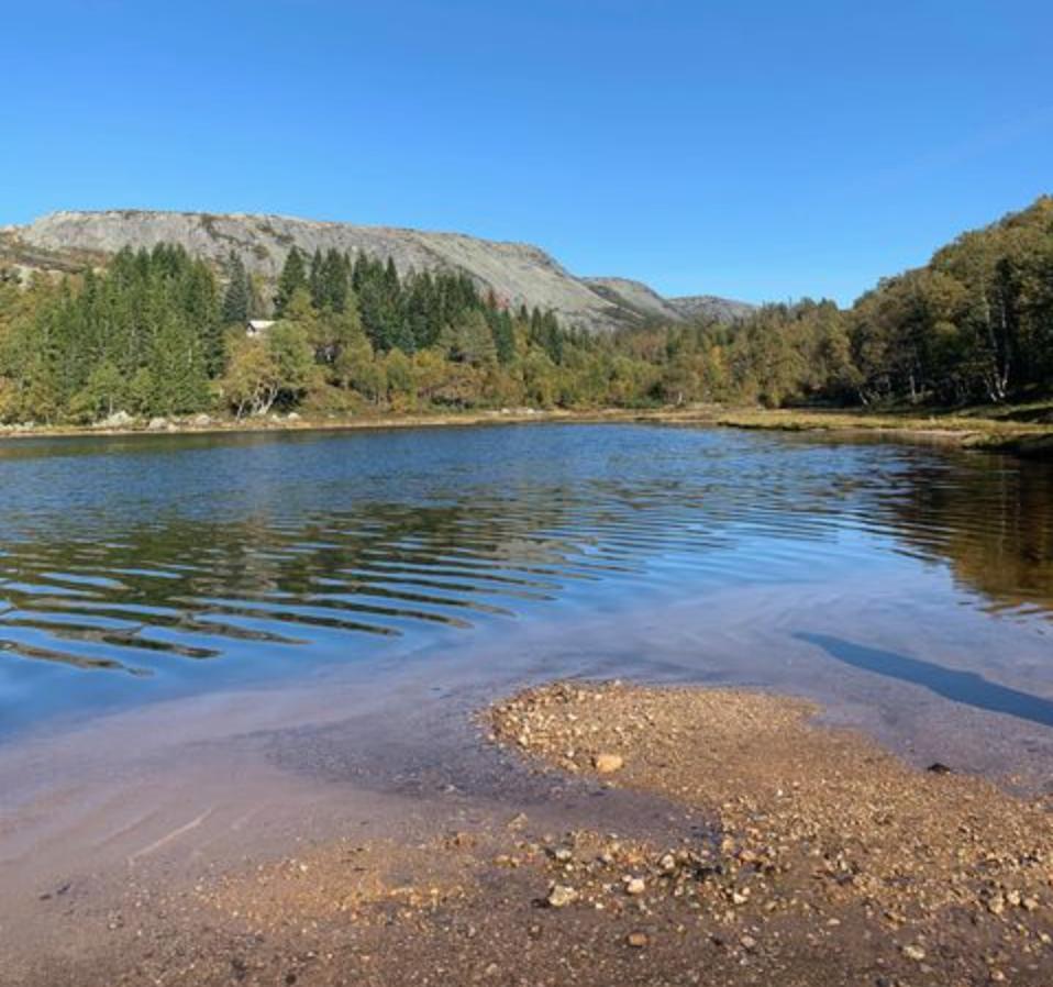 Et bilde som inneholder vann, utendørs, natur, innsjø  Automatisk generert beskrivelse