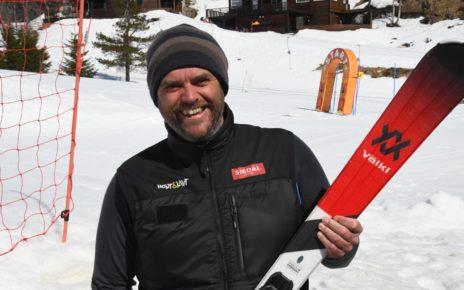 Et bilde som inneholder person, utendørs, snø, mann Automatisk generert beskrivelse