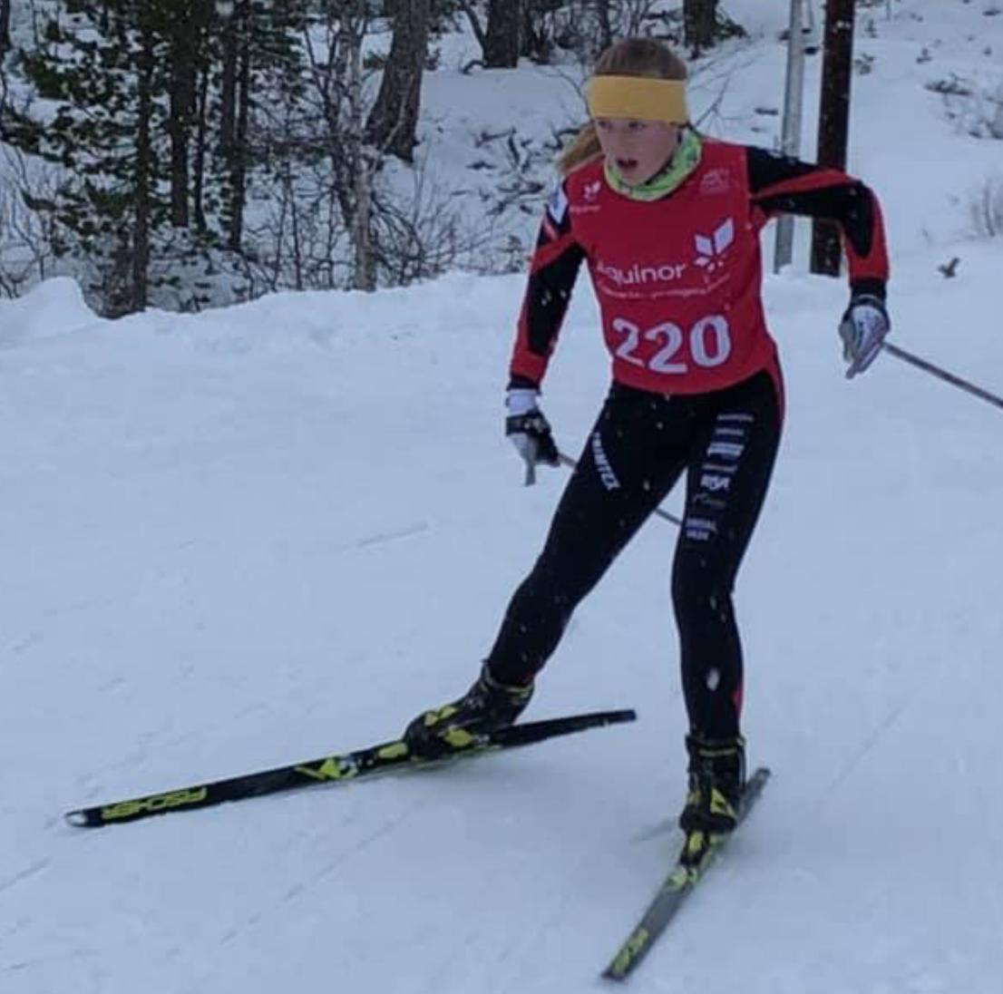 Et bilde som inneholder utendørs, snø, gå på ski, tre  Automatisk generert beskrivelse