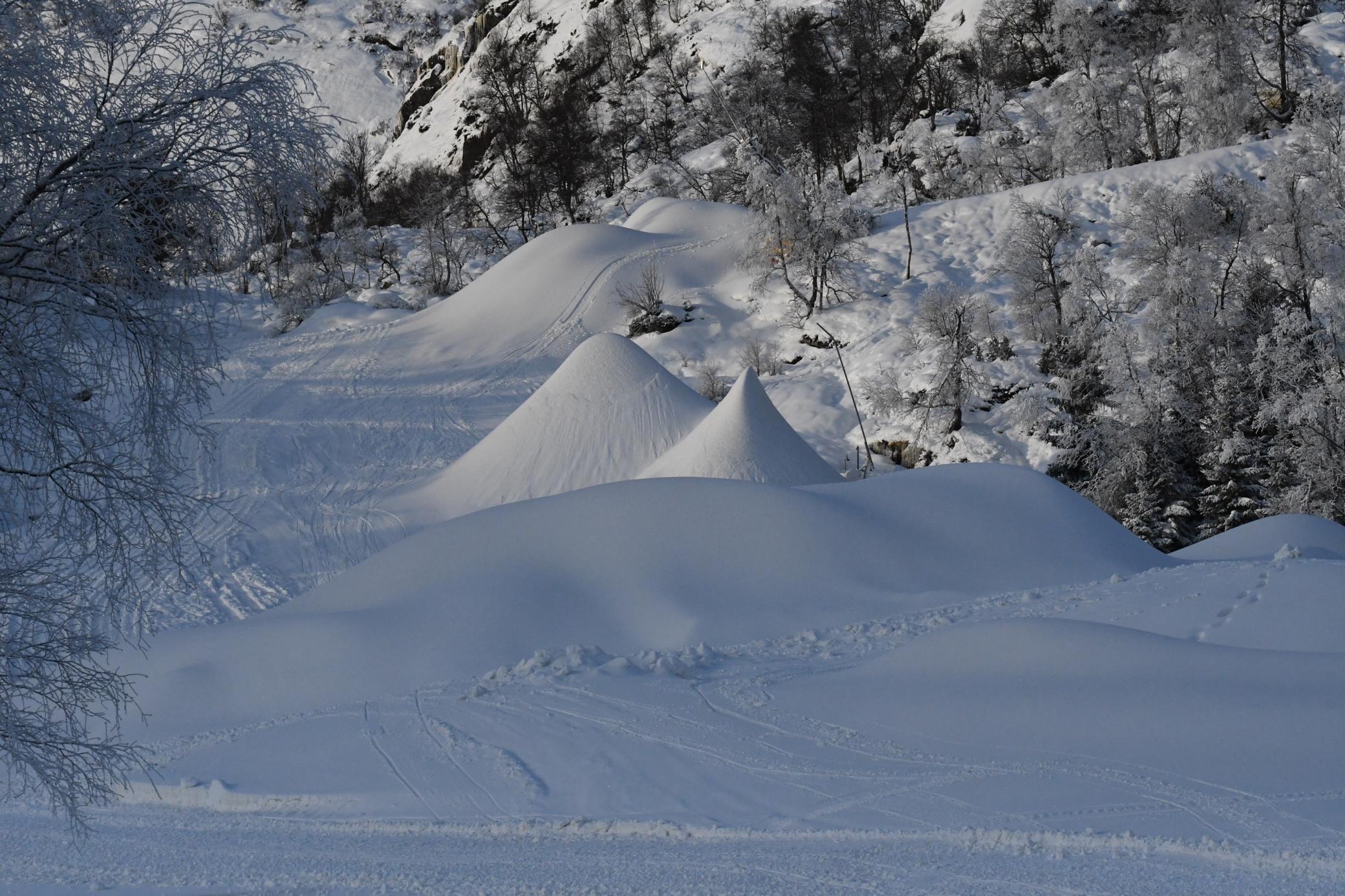 Et bilde som inneholder snø, utendørs, natur, dekket  Automatisk generert beskrivelse