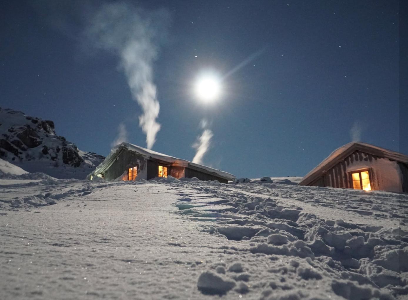 Et bilde som inneholder himmel, utendørs, snø, natur  Automatisk generert beskrivelse