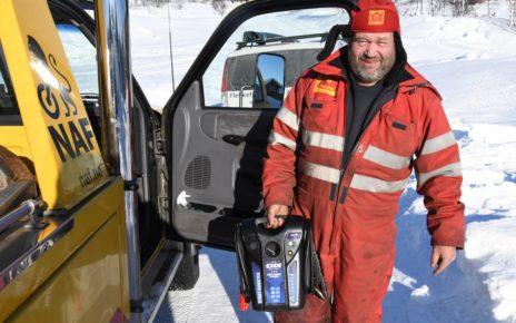 Et bilde som inneholder utendørs, snø, person, mann Automatisk generert beskrivelse