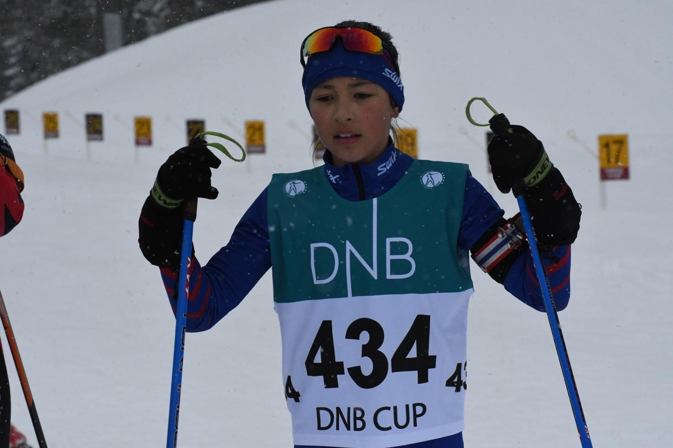 Et bilde som inneholder gå på ski, snø, utendørs, person  Automatisk generert beskrivelse