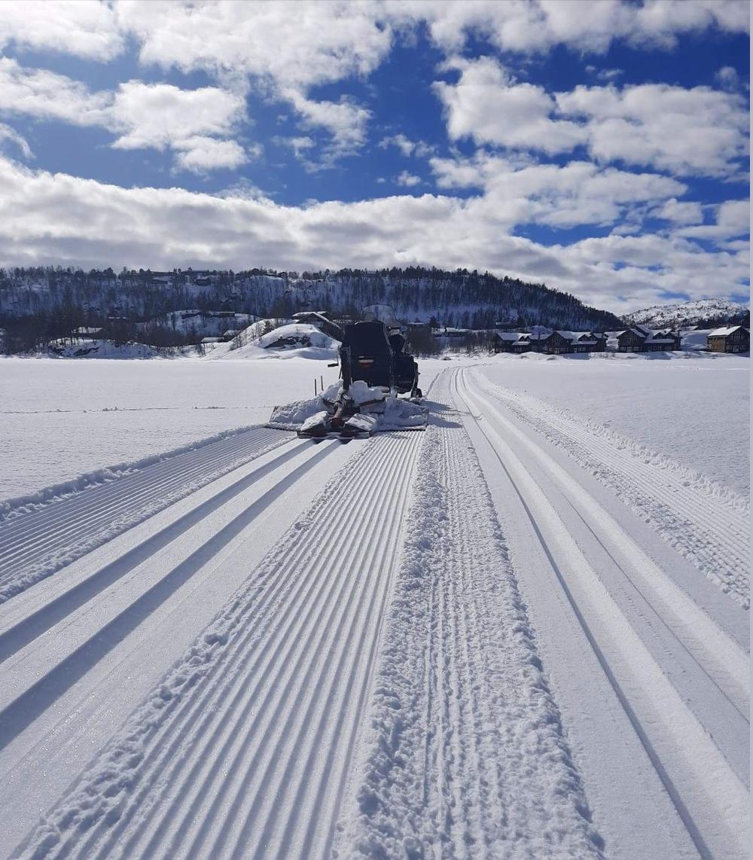 Et bilde som inneholder himmel, snø, utendørs, scene  Automatisk generert beskrivelse