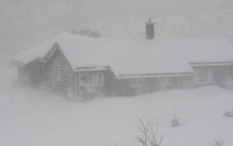 Et bilde som inneholder utendørs, snø, dag Automatisk generert beskrivelse