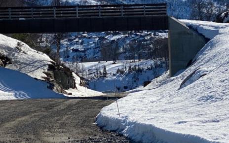 Et bilde som inneholder utendørs, snø, fjell, natur Automatisk generert beskrivelse