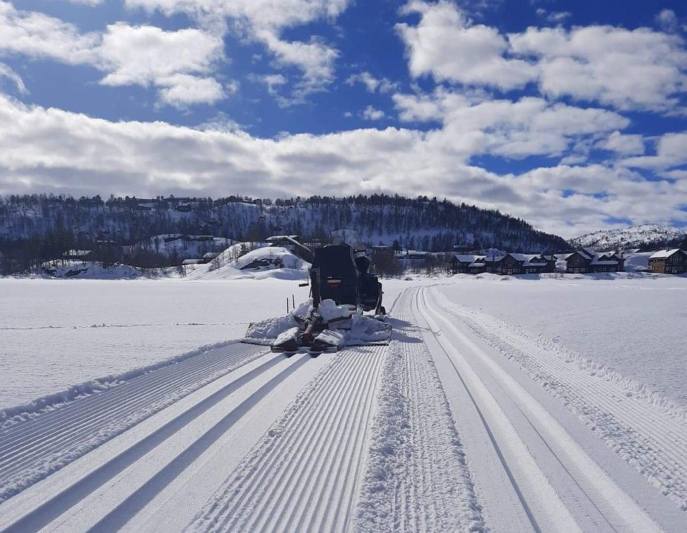 Et bilde som inneholder himmel, utendørs, snø, scene  Automatisk generert beskrivelse